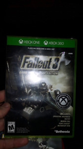Fallout 3 for Xbox one and xbox 360