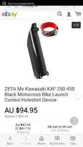 KX250/450F holeshot device
