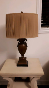 NEW PRICE!! Lamp with Beige shade