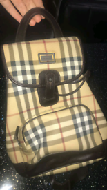 Mini Burberry bag