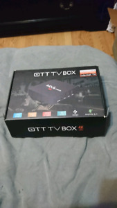Android box with wireless keypad