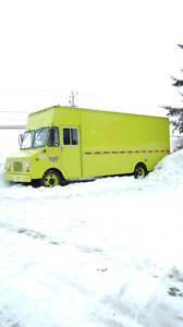 Food truck van 1981ck