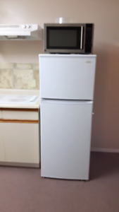 Small furnished bachelor apartment