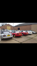 ●WANTED ALL MAZDA MX5'S MK1 MK2 MK3 EUNOS ROADSTER MX-5..