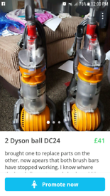 Dyson spares   New & Second-Hand Vacuum Cleaners for Sale   Gumtree