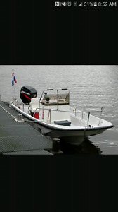 17' montauk boston whaler project TRADES ONLY