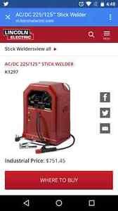 New 225 AC/DC LINCOLN WELDER