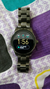 Fossil Q Marshal 2nd generation. With full box, 11month warranty