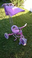 tricycle fille rose