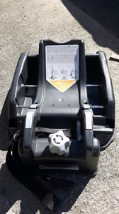 Two car seat adaptors for bucket infant seats