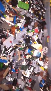 Lots of lego pieces/parts