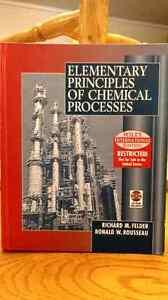 Elementary Principles of chemical processes St. John's Newfoundland image 1