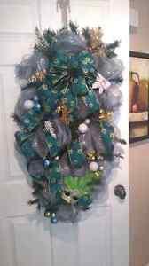 Large Christmas wreath. 100x50cm Gatineau Ottawa / Gatineau Area image 3