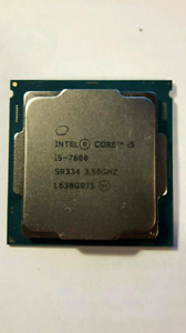 I5 7600 3.5ghz *NEVER USED*