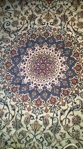 handmaid silk&wool persian rug from naiin of iran North Shore Greater Vancouver Area image 2