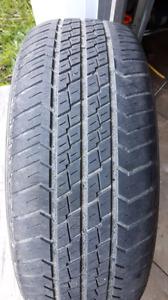 Set of 4 265/60/16 motomaster all season tires