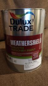 Dulux trade smooth masonry paint 5l LUNAR GREY 30BB62004