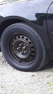 Four new Bridgestone and Cooper tires