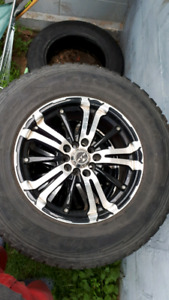 Tires and rims  235/70 R16 $100 obo