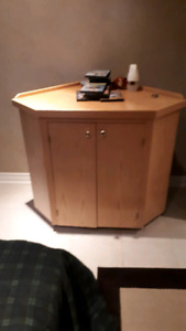 Maple TV stand Wall unit