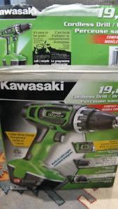 KAWASAKI 19.2V Cordless Drill/ Driver