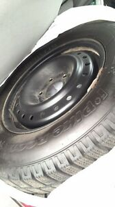 Winters w rims and tires Buick century 05