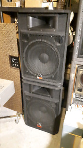 2- Wharfedale PA speakers, EVP-S15
