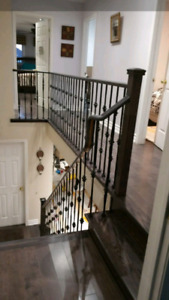 Professional  Flooring Laminate,Hardwood, Stairs, Spindles