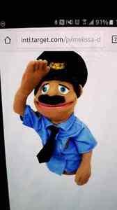 Melissa and Doug policeman puppet