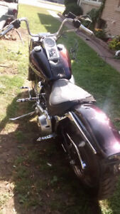 Softail tins set split tanks and fenders front and rear