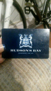 350.00$ Value Hudson's Bay or Home Outfitters giftcard