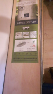 Kaindl   laminated flooring  12 boxes until opened covers 240 sq