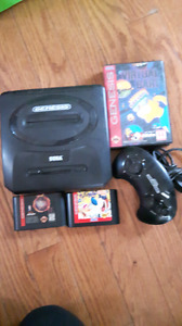 Sega system with games