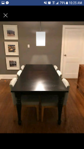 Crate & Barrel Dining room table