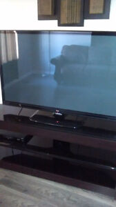 Large flat screen INCLUDES the stand