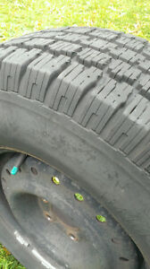 4 BFGoodrich Winter Tires with Rims West Island Greater Montréal image 2
