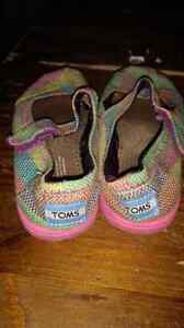 Toms Toddler Size 9