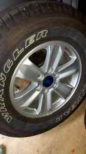 GREAT DEAL F150 wheels and tires - like new