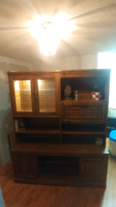 Wall unit for sale.