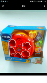 New, unopened Vtech sort and discover drum