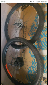 27.5 x 2.1 mountain bike wheelset 9 speed
