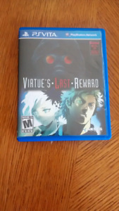 Zero Escape: Virtue's Last Reward PlayStation Vita, PS Vita