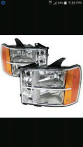 I'm looking for a headlight for 2008 GMC Sierra