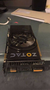Zotac Geforce GTS 250, 1 GB RAM, PCIe