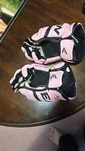 For Sale: pink hockey gloves