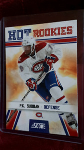 P.k. Subban Montreal Canadiens Hot Rookie