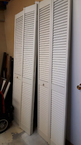Portes de garde robe / closet doors (3 available)