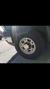 Mint condition chevy 2500 wheels and tires