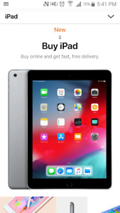 IPad, 32 GB, Gold. NEVER OPENED. trade for ps4.