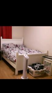 White double bedroom set